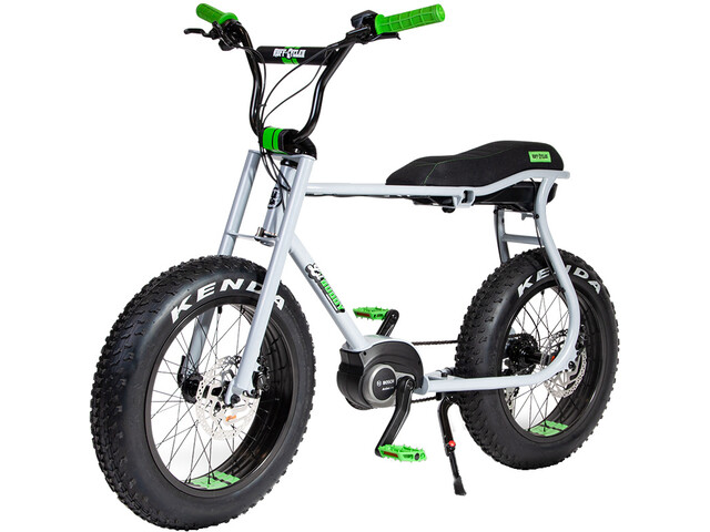 Ruff Cycles Lil'Buddy Bosch Active Line 300Wh, grey/green